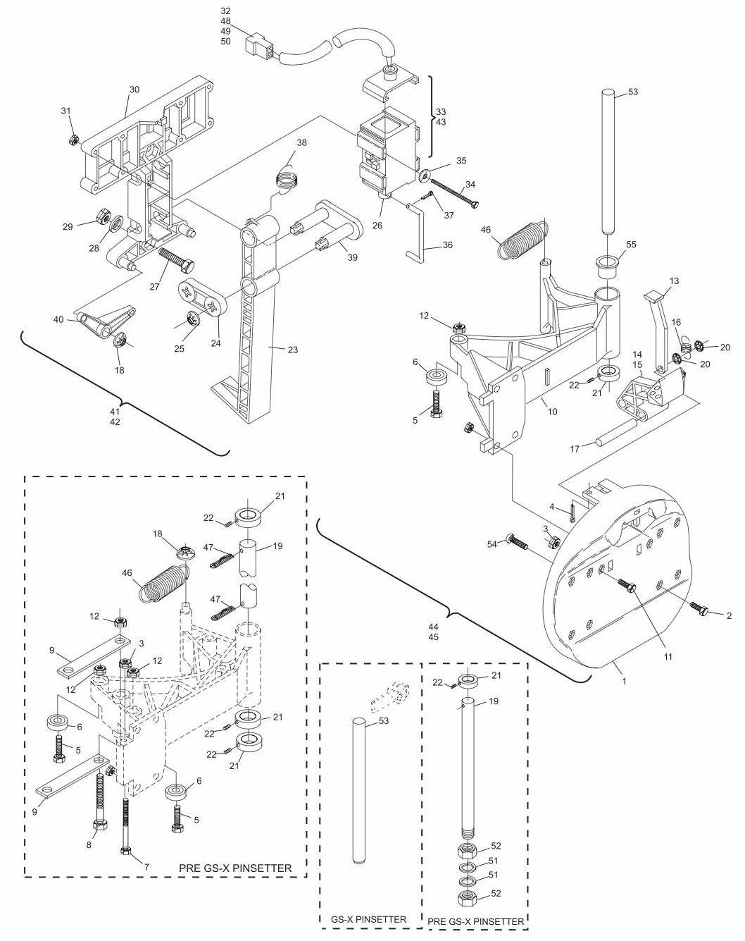 Ball Door/Lock Assembly