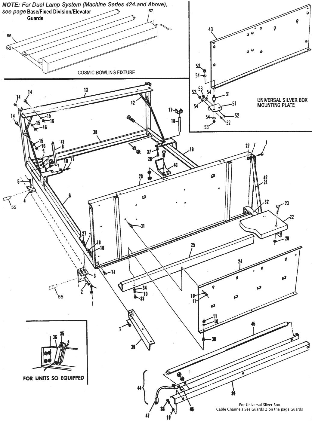 Frame Assembly (GS-96 and Below)