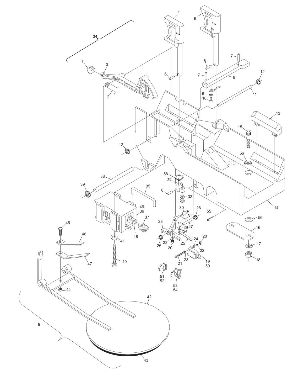GS-10 and GS-92 Pin Holder Assembly