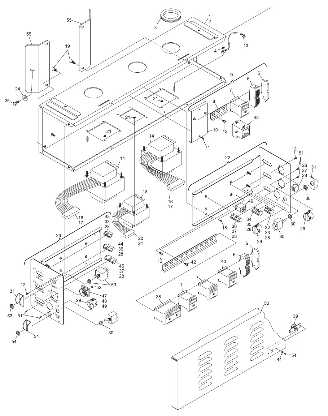 GS Consolidated Electronics High Voltage Box Assembly