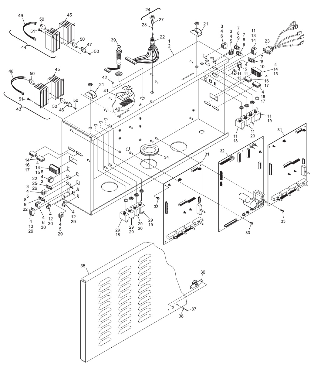 GS Consolidated Electronics Low Voltage Box Assembly