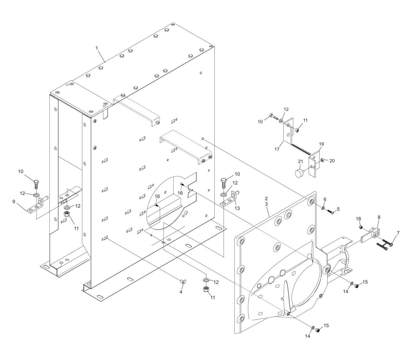 GS-X/CPO Accelerator Box Assembly