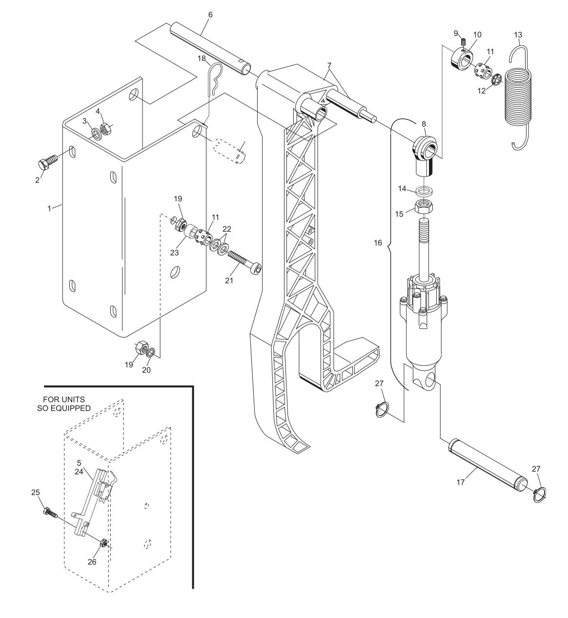 GS-X Sweep Attenuator Assembly