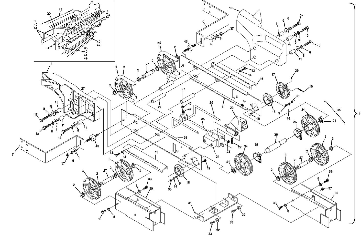 Shark Switch Assembly Short Pit Machines Series 43 and Above (Excludes Smart Shark)