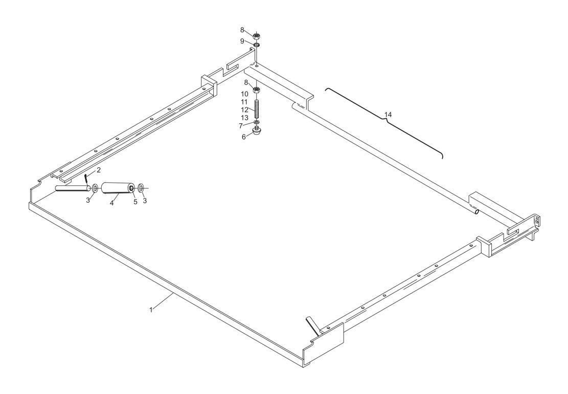 Transport Band Frame Assembly (Long Pit)